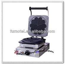 K320 1 Head Quincuncial Electric Stainless Steel Waffle Baker