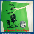 Dubbelsidig Polyester Fabric Flag Printing