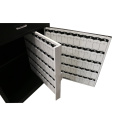 Steel Wholesale hotel valet parking podium with 150 key holders cabinet