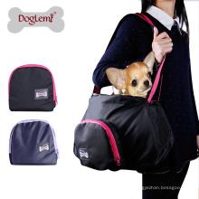 Portador portátil do animal de estimação do cão portador respirável do estilingue do gato do animal de estimação do poliéster do portador
