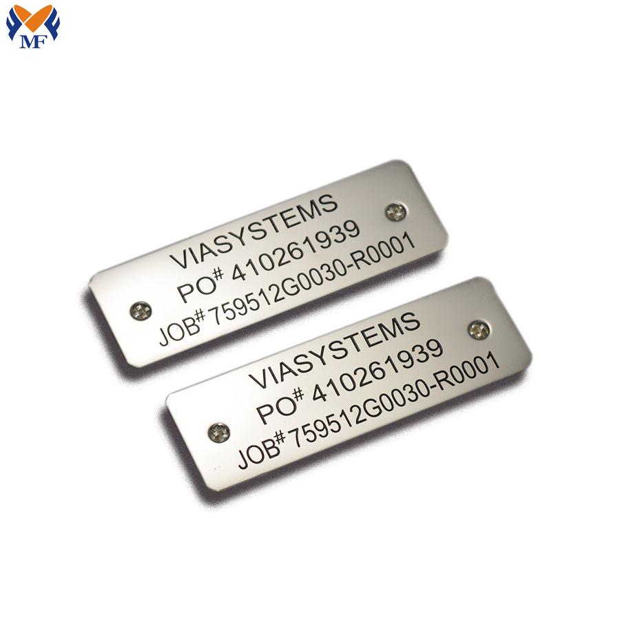 Metal Tags For Equipment