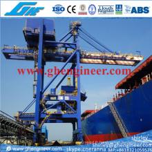 2000tph Grab Ship Unloader pour décharger 200000dwt Vessel