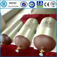 90L High Pressure Seamless Steel CNG Gas Cylinder (ISO356-90-20)
