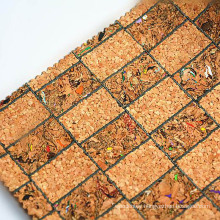 Artificial Natural Cork Leather Fabric For Photo Frame