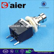 PBS-24-102P SPDT 125 V ROHS PCB 3PIN Interruptor de Pé Sem Fio
