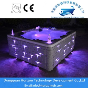 Water proof control panel hot tub