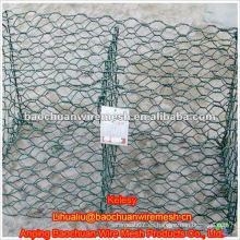 Red de piedra de la jaula con alta calidad y precio competitivo en almacén