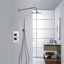 Alta calidad oculta ducha termostática con ducha TMV & WRAS