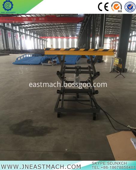 Stationary Scissor Lift Table Cargo Lift Table