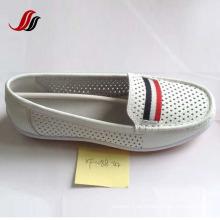 Loafer mulheres mais recentes sapatos lazer couro sapatos (XF562-8)