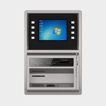 Wand-Banking-Kiosk mit AD-Player