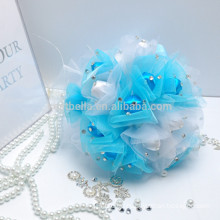 Braut bunte Großhandel künstliche farbigen schönen Hochzeit Bouquet