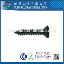 Fabricado em Taiwan DIN7983 Aço Carbono Galvanizado Phillips Drive Oval Head Self Tapping Screws