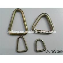 Anneaux triangulaires et bagues galvanisées en métal (DR-Z0172)