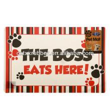 dog feeding mat,cat feeding mat