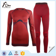 Sexy Women′s Thermals Underwear Long Johns Suit Set