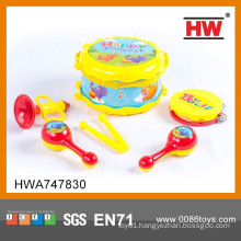 Most Popular Toy Musical Instrument Kids Plastic Drum Set Toy