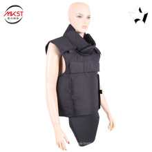MKST648-2(black) black bullet proof jacket ballistic jacket