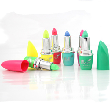 Diverso Color Uv brillo Neon neón fluorescentes lápiz labial