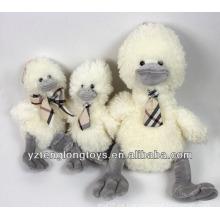 2014 Nueva pajarita del producto que lleva el pato suave de la felpa del juguete