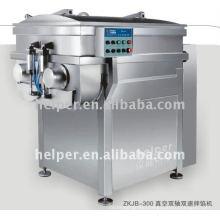 Vacuum meat mixer