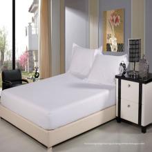 Woven 100% Algodão Elastic Twin Full Fitted Folha para Home Hotel (WSFI-2016018)