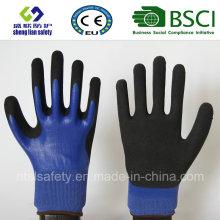 Gants givrés au latex, Gants de travail de sécurité de finition sablonneuse (SL-RS306)