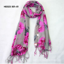Polyester-Cotton scarf jewelry rings