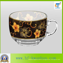 Nice Flower Beer & Coffee Glass Mug Set Tea Cup