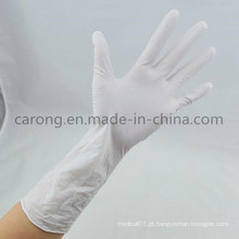 Luvas descartáveis de látex para uso cirúrgico