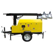 Lighting Tower Diesel Generator 8KW