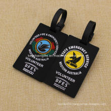 Custom Fire & Emergency Service Rubber Luggage Tags