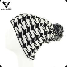 2016 El último jacquard del taxi diseña el sombrero de la gorrita tejida