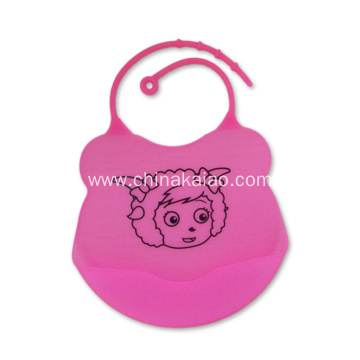 Adjustable Drooling Cloth Silicone Baby Bibs