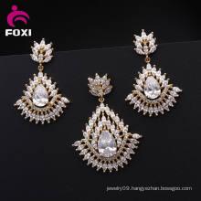 Wholesale Hot Sale 18k Plated Ladies Jewelry Set