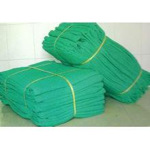 Fire retardent construction scaffolding safety net
