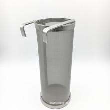 Hopper Filter Stainless Beer Keg Dry Hoping Home Brew 4x10 Inch Hopper Spider Strainer Home Brew Pellet Hop 300 Mesh Filter