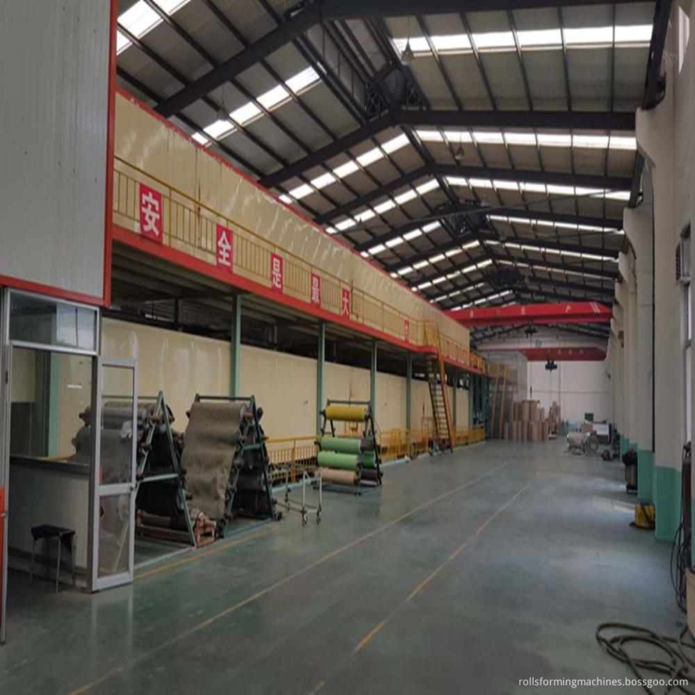 VCM plate production line