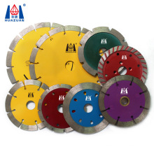 Huazuan Marble Machine Cutter Professional Manufacturer Supply Diamond Cutting Saw Blade For Swing Saw