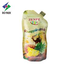DQ PACK حقيبة الحقن Doypack Stand Up Pouch with Spout juice