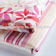 оптовая 100% хлопок печатных постельное белье лист ткань в рулонах для домашнего тканья