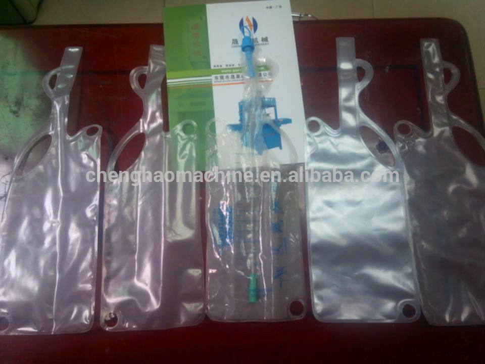 Urine bag welding machine