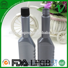 HDPE high-quality 100ml gray long neck petrol Recycled Plastic industrial Bottle