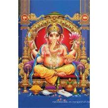 Material de la mascota PP Fotos de Dios hindú 3D baratas