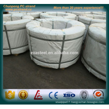 7 wire low relaxation pc steel wire strand