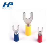 Vorisolierter PVC Elektrischer Gabelanschluss Steckverbinder Hersteller