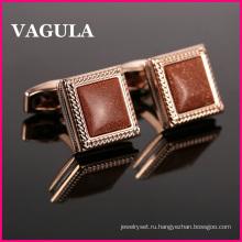 VAGULA качества Оникс французский запонки L52503