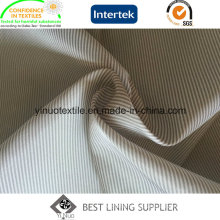 100% Polyester Super Soft Men′s Suit Stripe Sleeve Lining