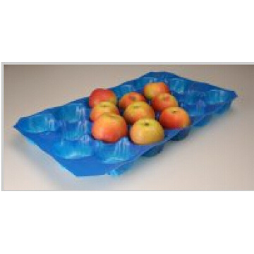 Emballage boursouflé thermoformé de boursouflure thermoformée de catégorie standard de sécurité alimentaire emballant le plateau d'emballage de pommes