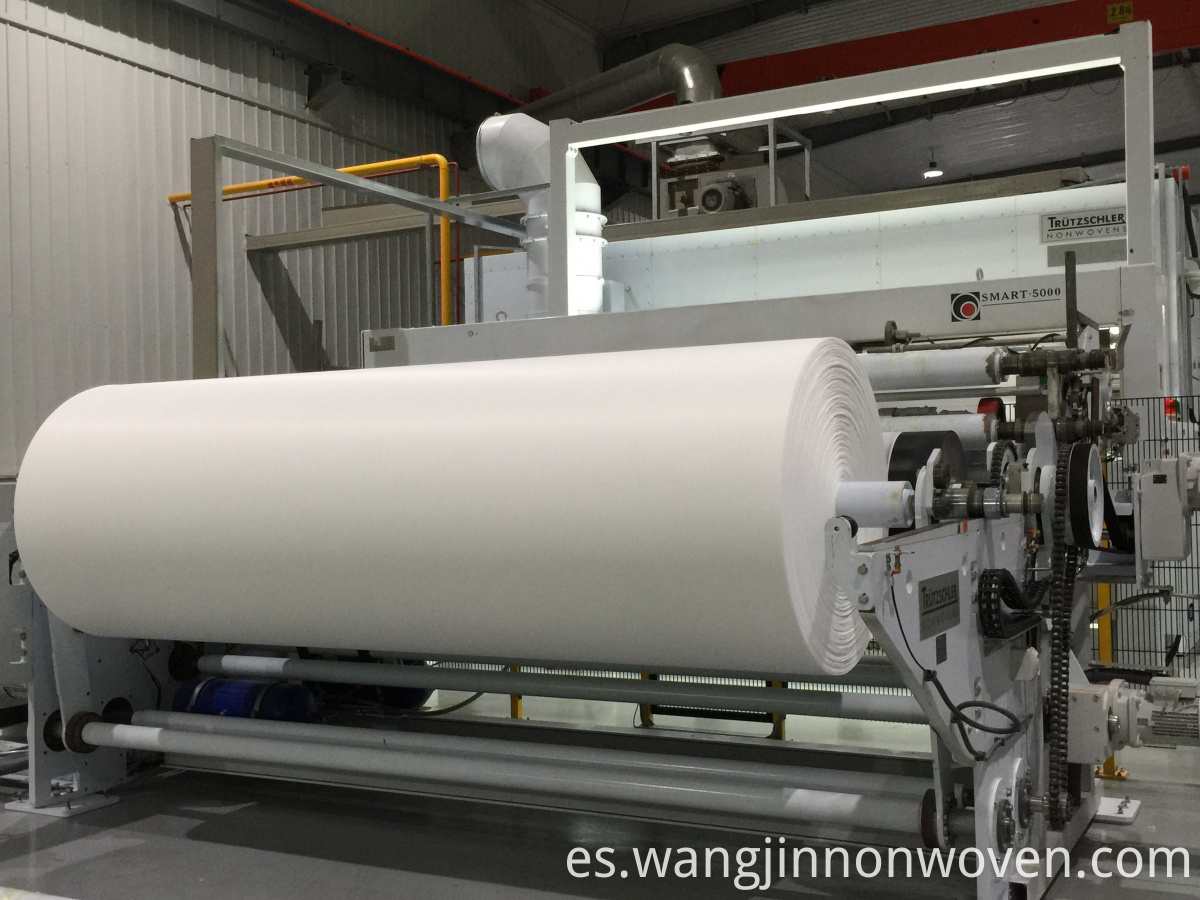 Spunlace Nonwoven Fabric in Roll